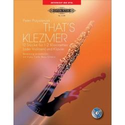 That's Klezmer - 1 ou 2 Clarinettes/ Piano
