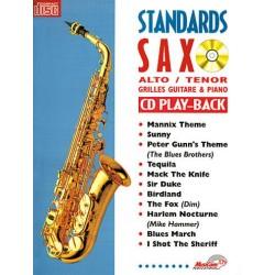 Sax Standards + CD - alto & tenor