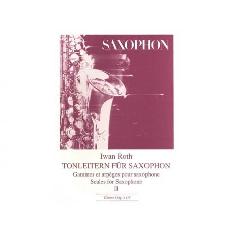 Tonleitern für Saxophon - Vol 2 - Sax - liquidation