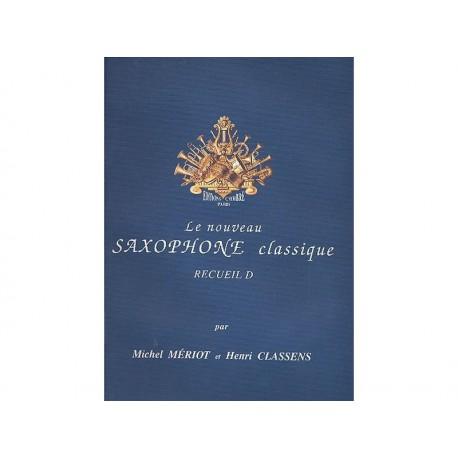 Le nouveau saxophone classique recueil D