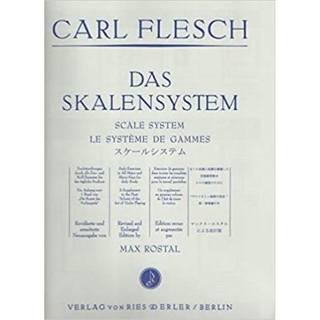 Carl Flesch - Das Skalensystem - violon