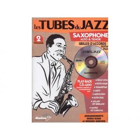 Tubes du jazz saxophone 2 + CD - alto & tenor - OCC