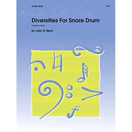 Diversities For Snare Drum - 50%
