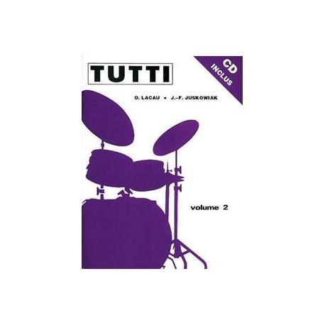 Tutti - méthode de batterie - vol 2 + CD