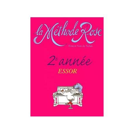 Méthode Rose 2ème année : l'Essor - Piano