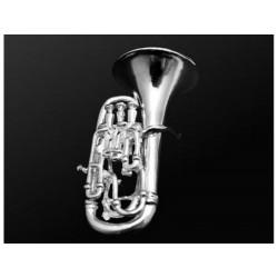 Miniature - Euphonium en argent -  H 3,4cm - 50%