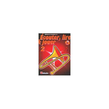 CD (seul) trombone, Ecouter, lire & Jouer vol 2
