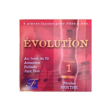 CD Evolution vol. 1 flûte à bec