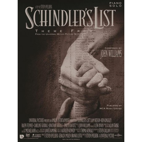 Schindler's List - Thème - Piano