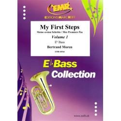 My First Steps Basse Mib Vol. 1 - méthode Clé de Sol