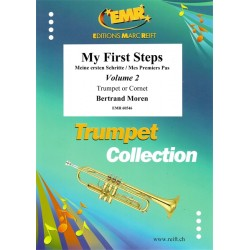 My First Steps Cornet / Trompette Vol. 2 - méthode