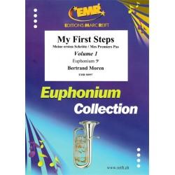 My First Steps Euphonium Vol. 1 - méthode Clé de Fa