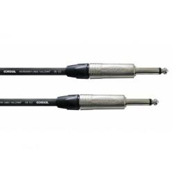 Câble Jack Neutrik/Cordial 4.5m - 6.3mm Mono