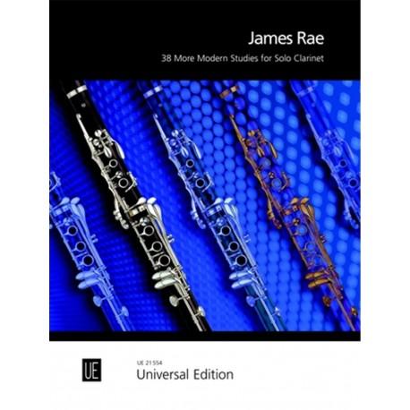 38 More Modern Studies - James Rae - Clarinette