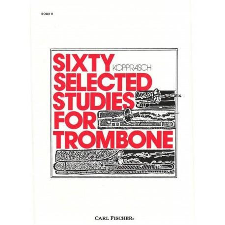 60 selected Studies Vol 2 - Trombone - G. Kopprasch