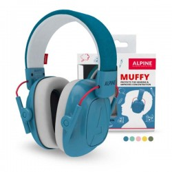 MUFFY Alpine Casque Protection enfant - Bleu