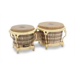 "Bongo LP Latin Percussion 7 1/4"" & 8 5/8"" - Frêne / Gold Tone"