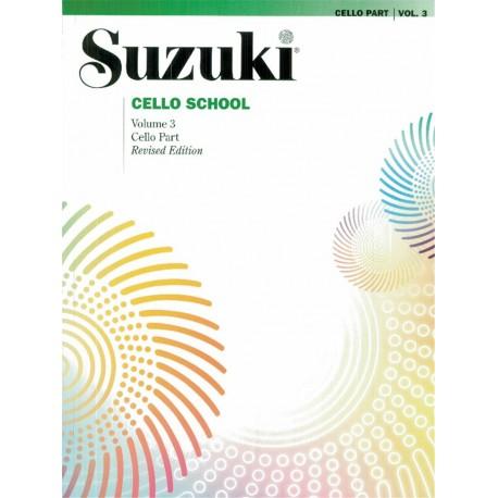SUZUKI Cello School 3 - violoncelle