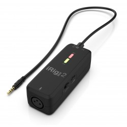 iRig PRE 2 - XLR microphone interface for iOS and Android